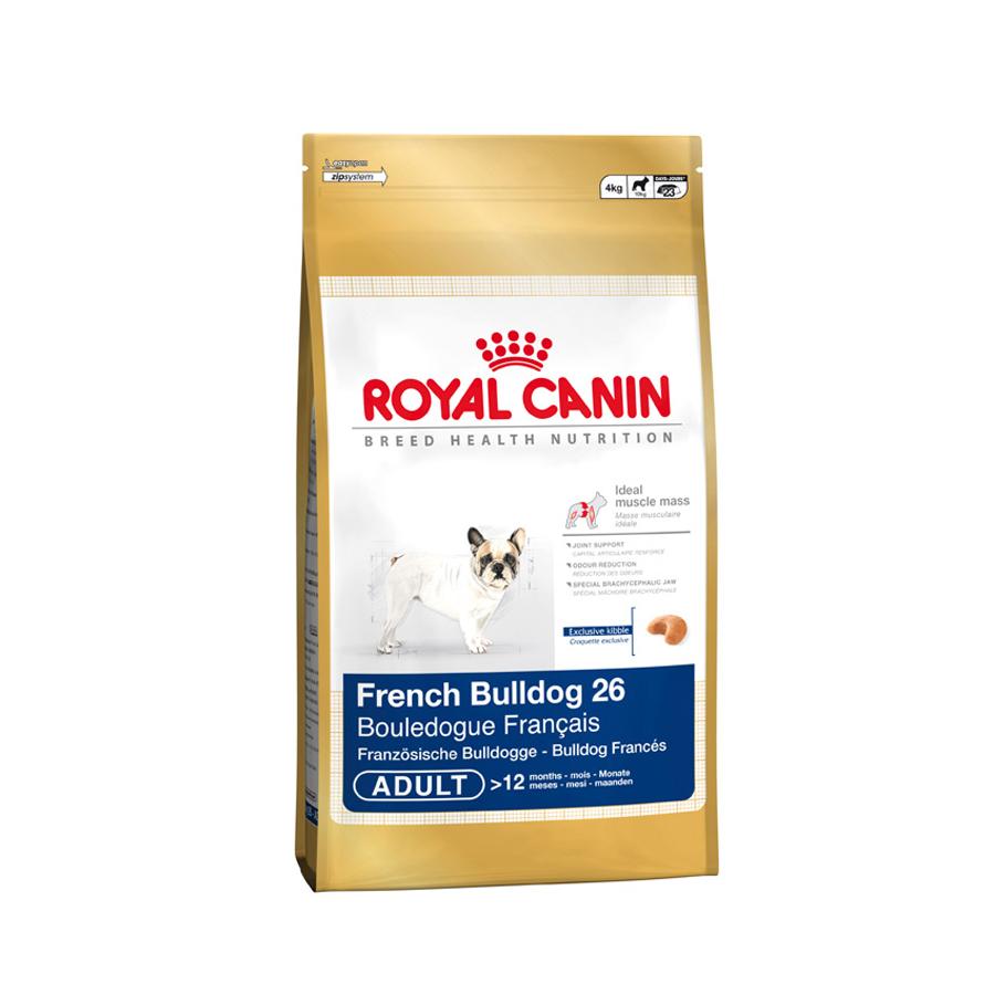royal canin french bulldog 26 adult 3 kg 1er pack 1 x 3 kg bunte. Black Bedroom Furniture Sets. Home Design Ideas