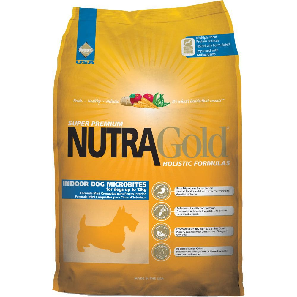 Nutra Gold Nutragold Holistic Indoor Adult Microbites