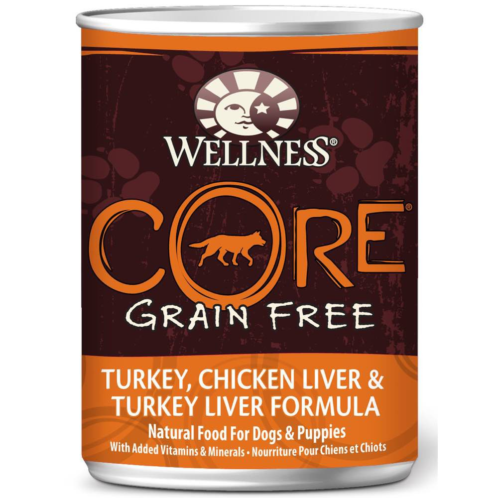 Wellness Core Gf Turkey Chicken Liver Amp Turkey Liver