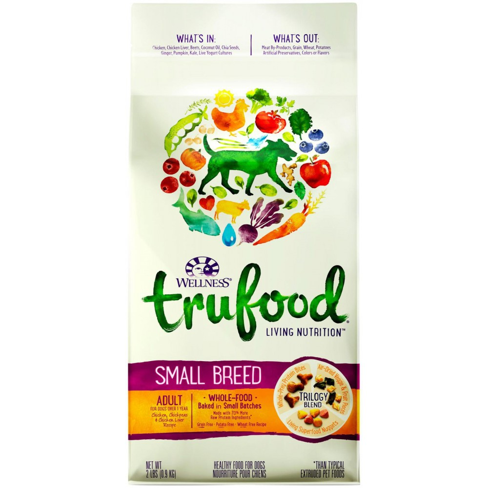 Wellness trufood baked blend small breed adult chicken wellness trufood baked blend small breed adult chicken chickpeas chicken liver recipe petstop a personal touch forumfinder Images
