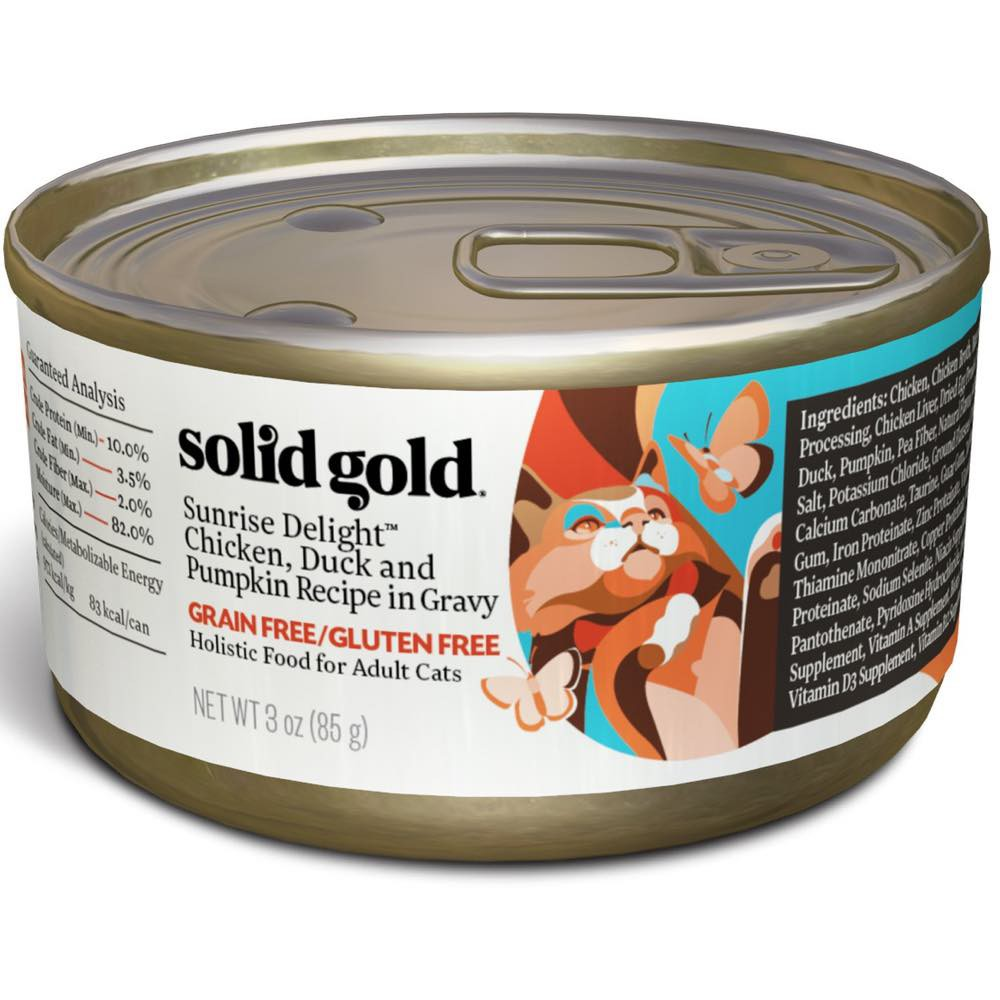 Solid Gold Solid Gold Cat Can Food Sunrise Delight Pate